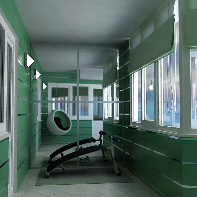 Ремонт, отделка балкона