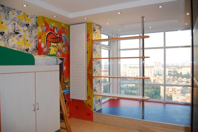 Комплексный ремонт квартиры, гостиной, прихожей, ванной комн.
