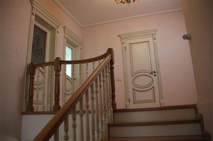 Дизайн лестничной площадки